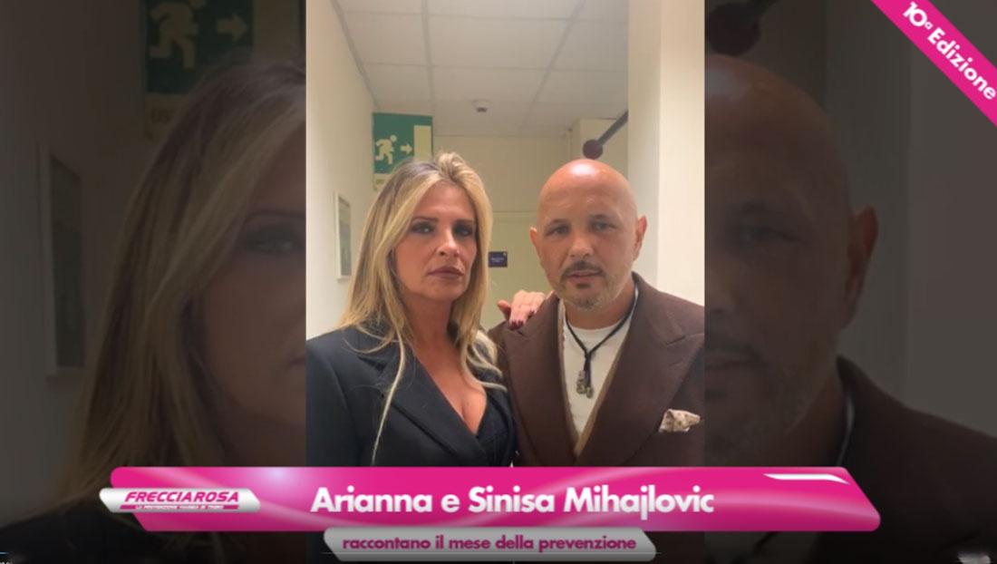 Sinisa e Arianna Mihajlovic