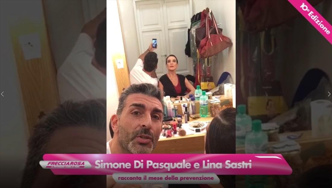 Simone Di Pasquale e Lina Sastri