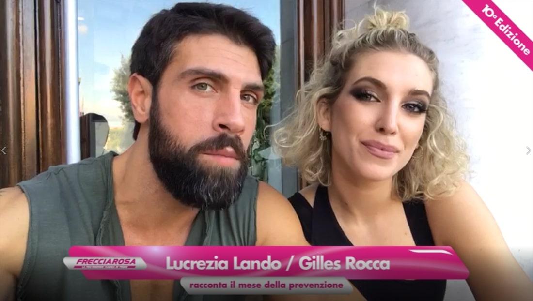 Lucrezia Lando e Gilles Rocca